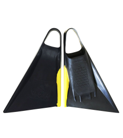 VIPER FINS DELTA 2.0 - BLACK /YELLOW