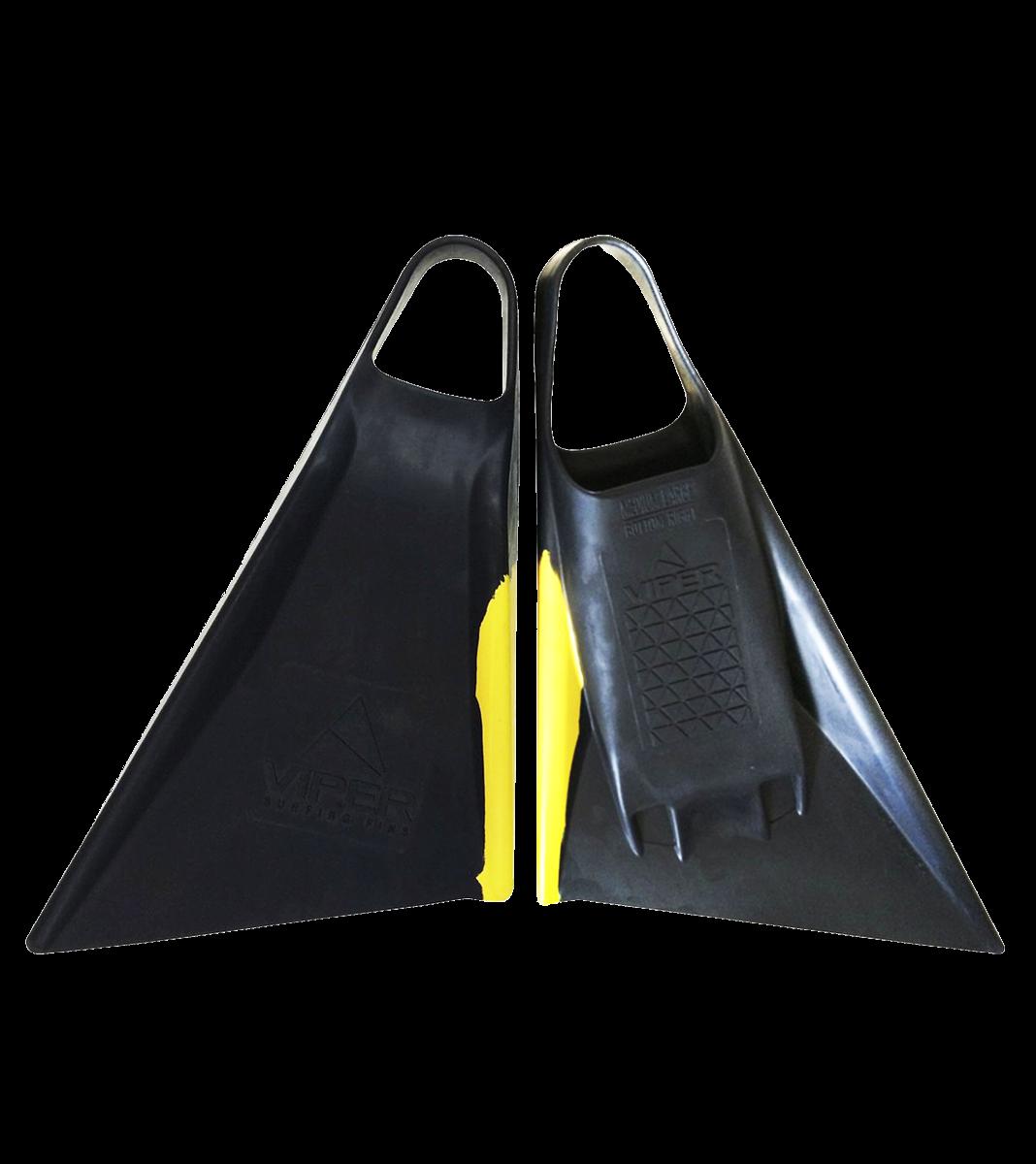 VIPER FINS DELTA 2.0 - BLACK /YELLOW